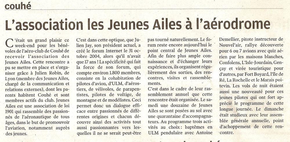 JAssemblement 2011 : l'évènement Jeunes Ailes de l'année !! - Page 8 Presse